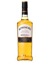 ウイスキー:ボウモア