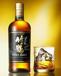 ウイスキーの【竹鶴】